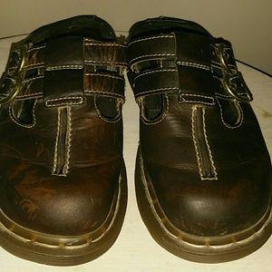 Doc Martin leather slipons